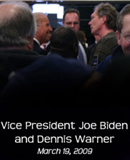 with Vice President Joe Biden2009