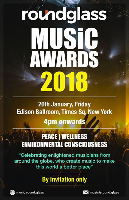 RoundGlass Music Awards- New York City-2018 Poster