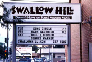Swallow Hill Concert - Denver